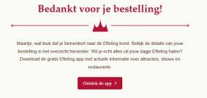 Bedankt voor je bestelling + cadeautje: voeg online beleving toe aan je dienst