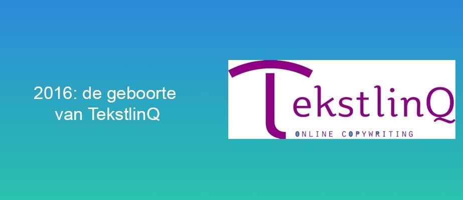 2016: de geboorte van TekstlinQ