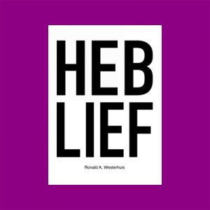 De Heb Lief-poster van kunstenaar Ronald Westerhuis